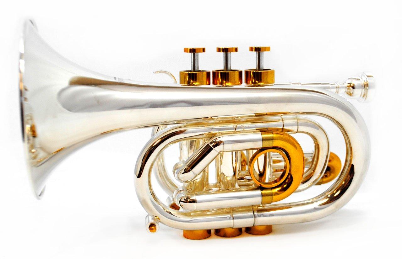 CenterTone Pocket Bb Trumpet – Silver & Gold Plated