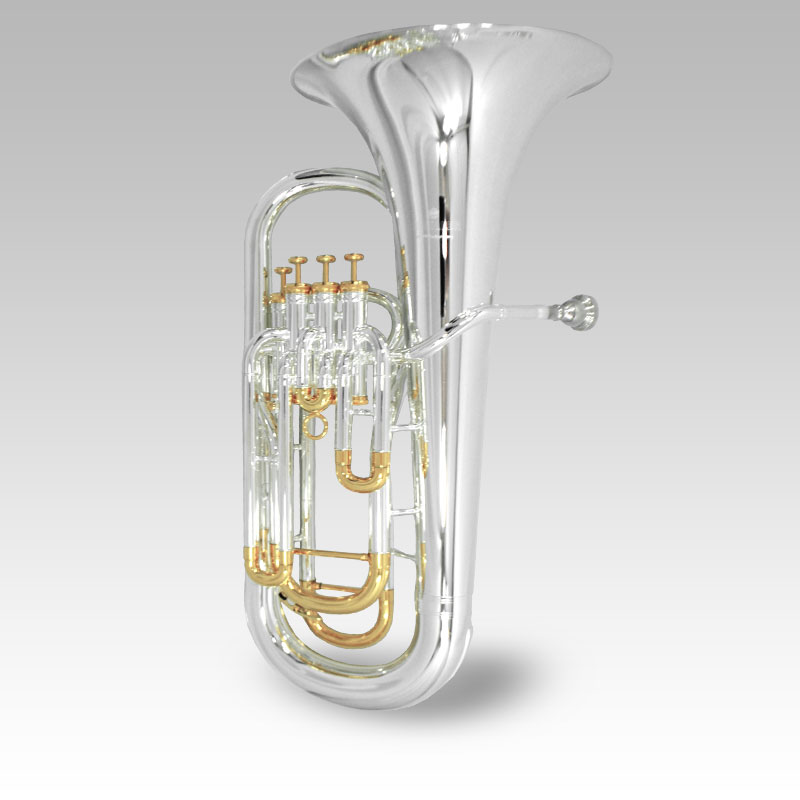 Elite IV Euphonium Silver & Gold