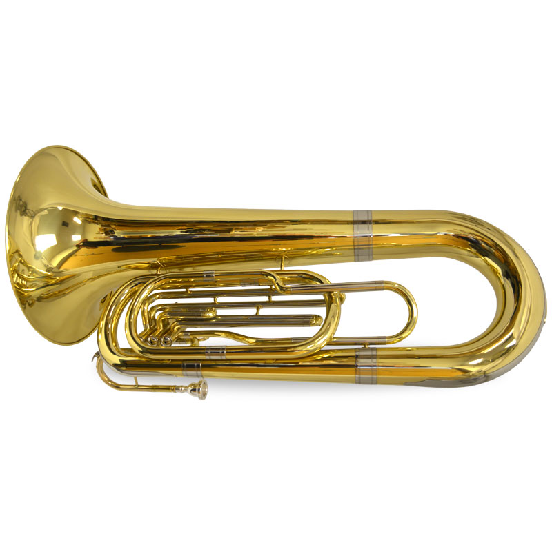 Field Series Marching Tuba – Gold Lacquer – Big Bell