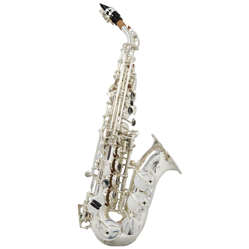 Elite IV Curved Soprano Saxophone – Silver
