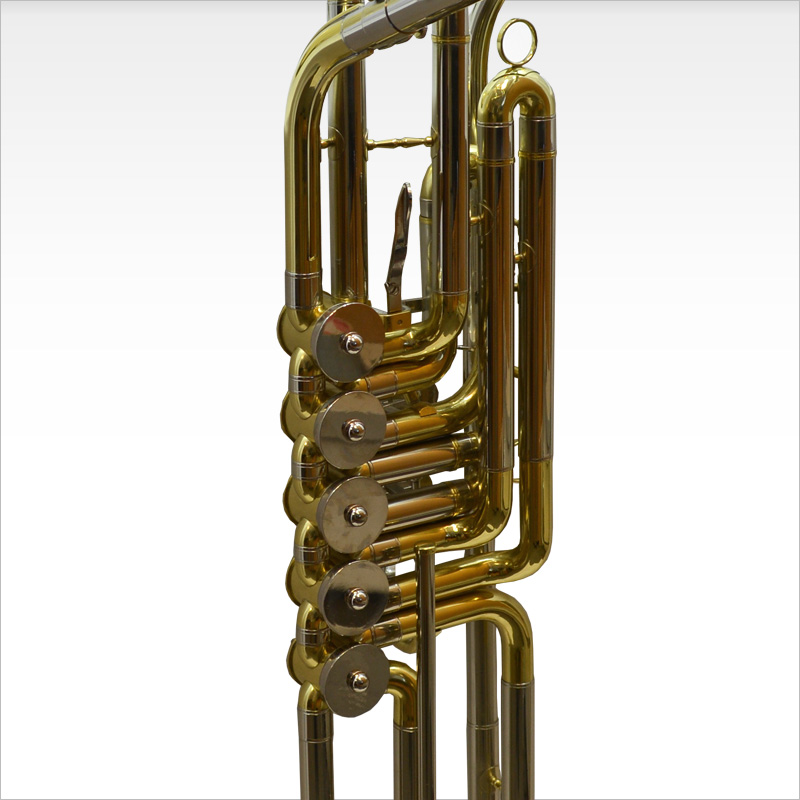 Cimbasso 5 Valve Rotary – Gold Lacquer