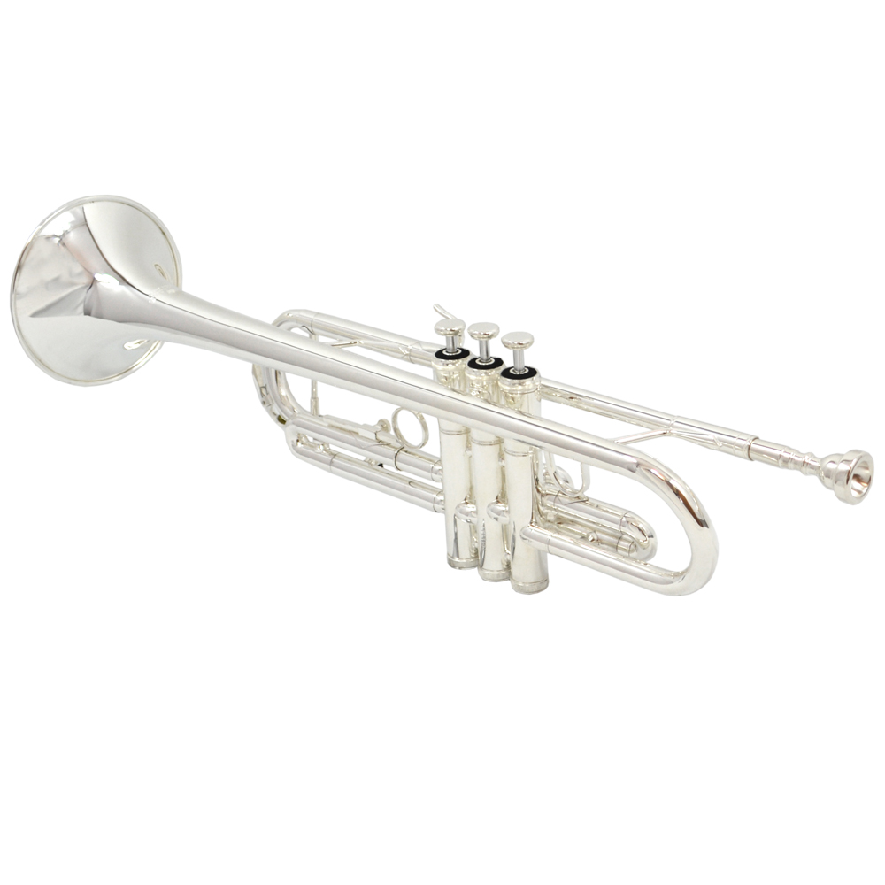 American Heritage 78 Lightweight Riviera Trumpet – Silver – Bb