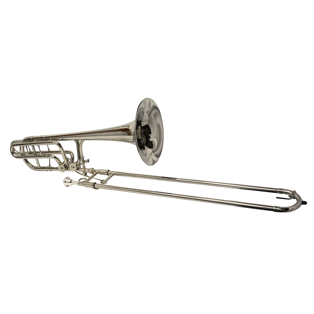 American Heritage Double Rotor Trombone – Nickel Plated