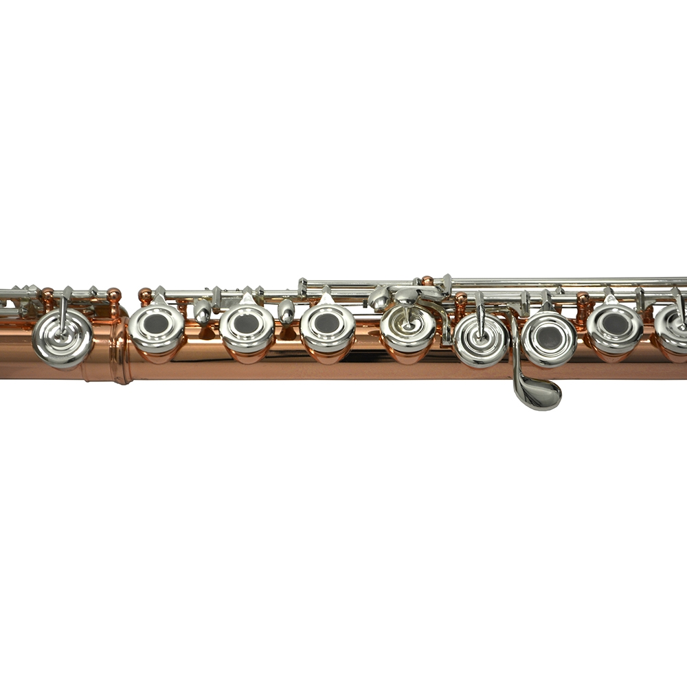 Elite Frankfurt Solid Copper Flute with Soldiered & Rolled Tone Holes