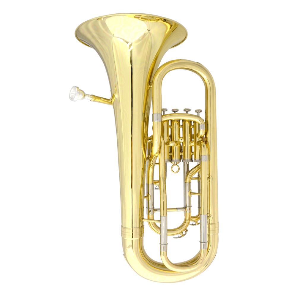 Elite IV Euphonium Gold Laquer Inline
