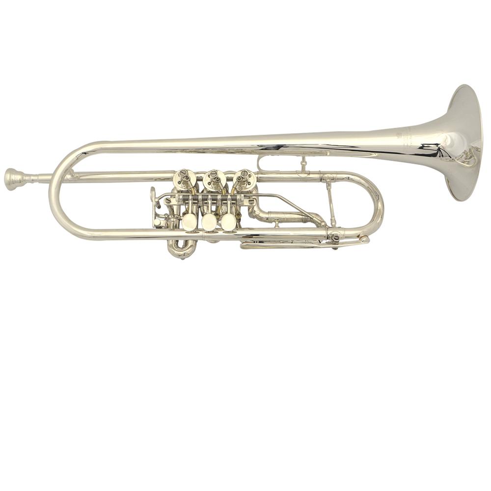 Elite Frankfurt Rotary Trumpet – Nickel