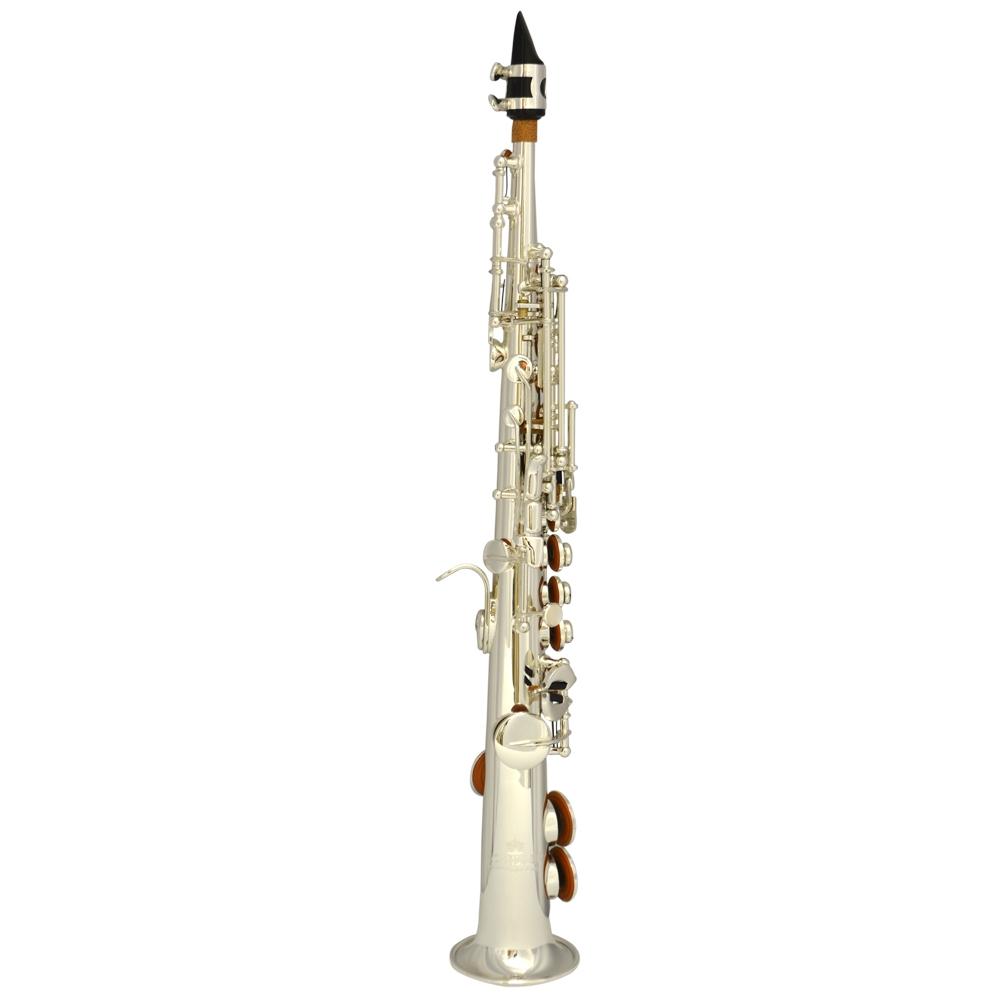 Elite V La Première Sopranino Saxophone – Silver Plated