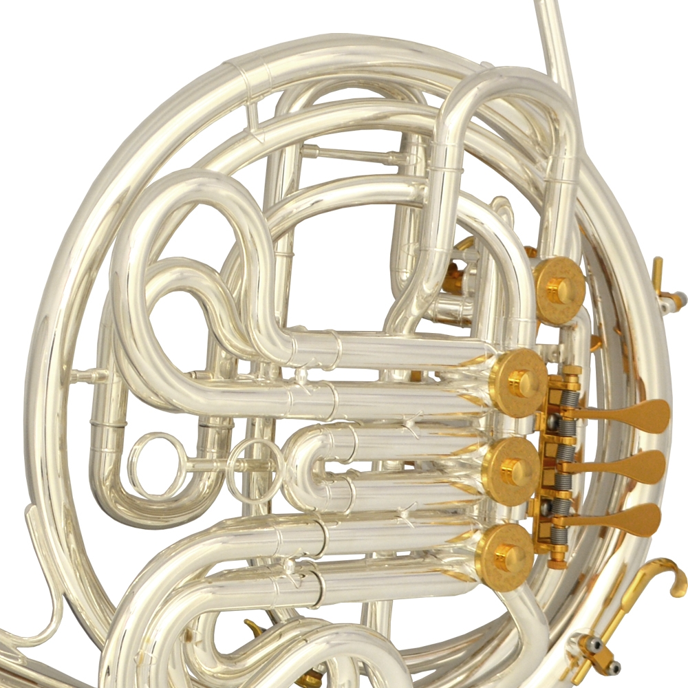Elite VI French Horn – Silver & Gold