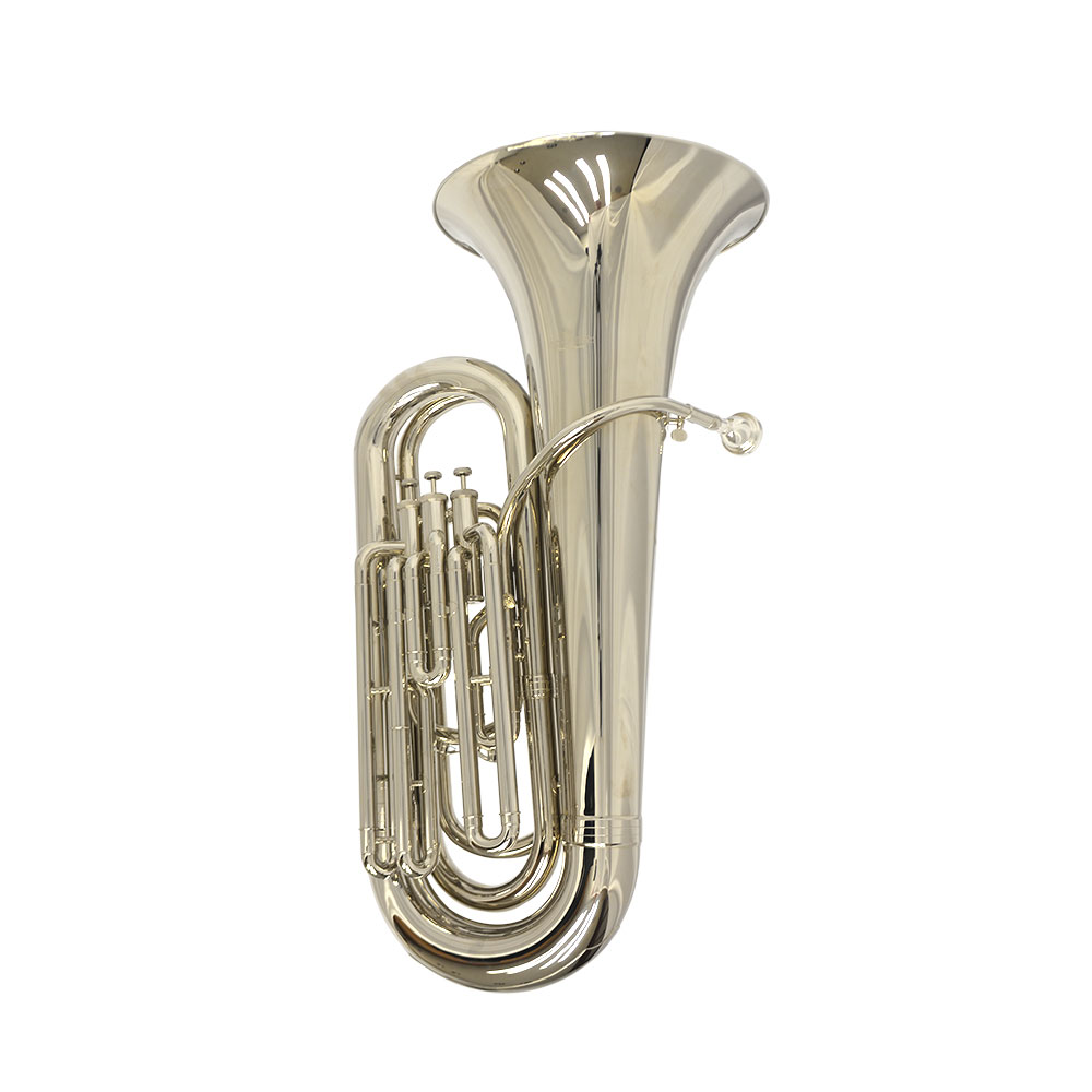 Elite Convertible Marching & Concert Tuba – Silver