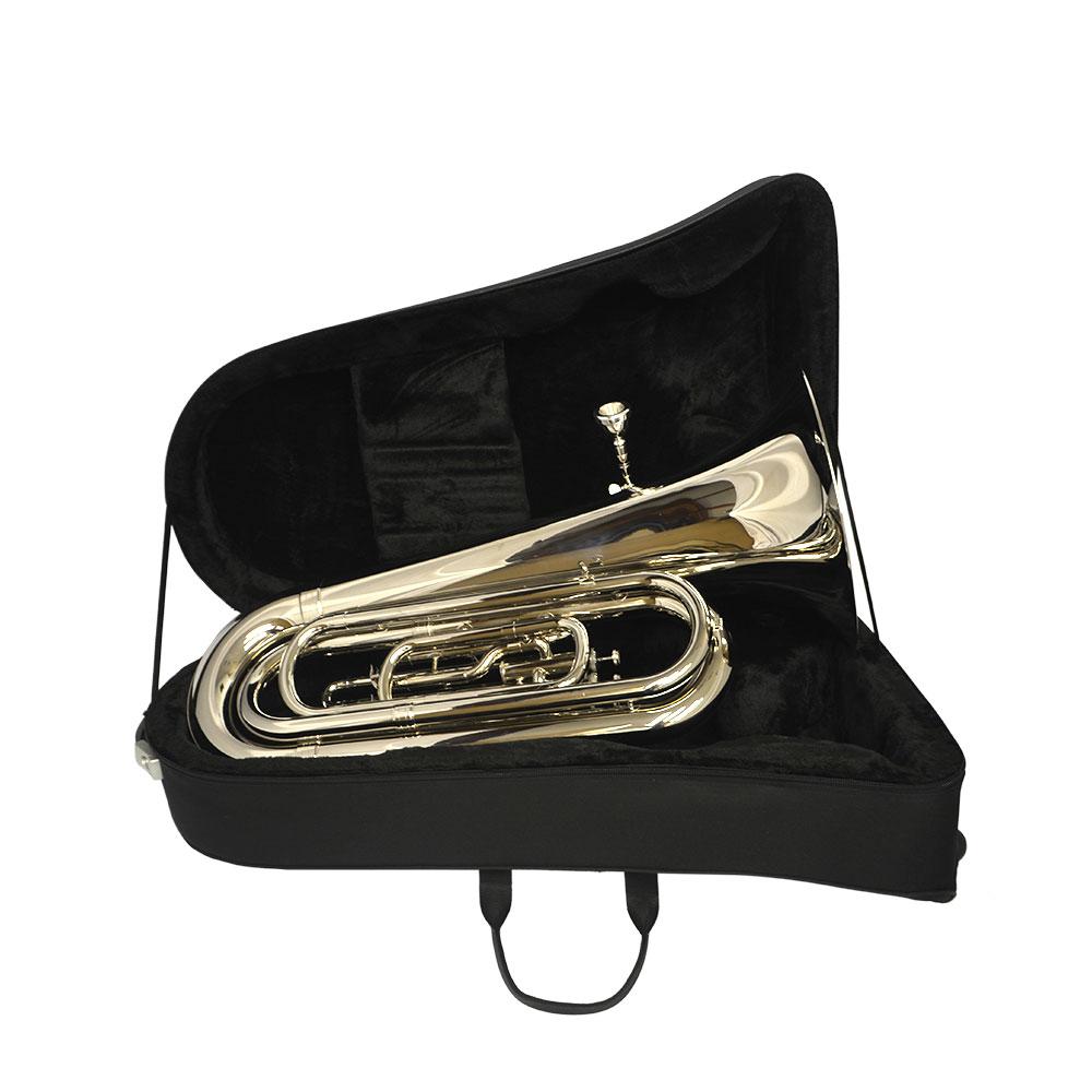 Elite Convertible Marching & Concert Tuba – Silver
