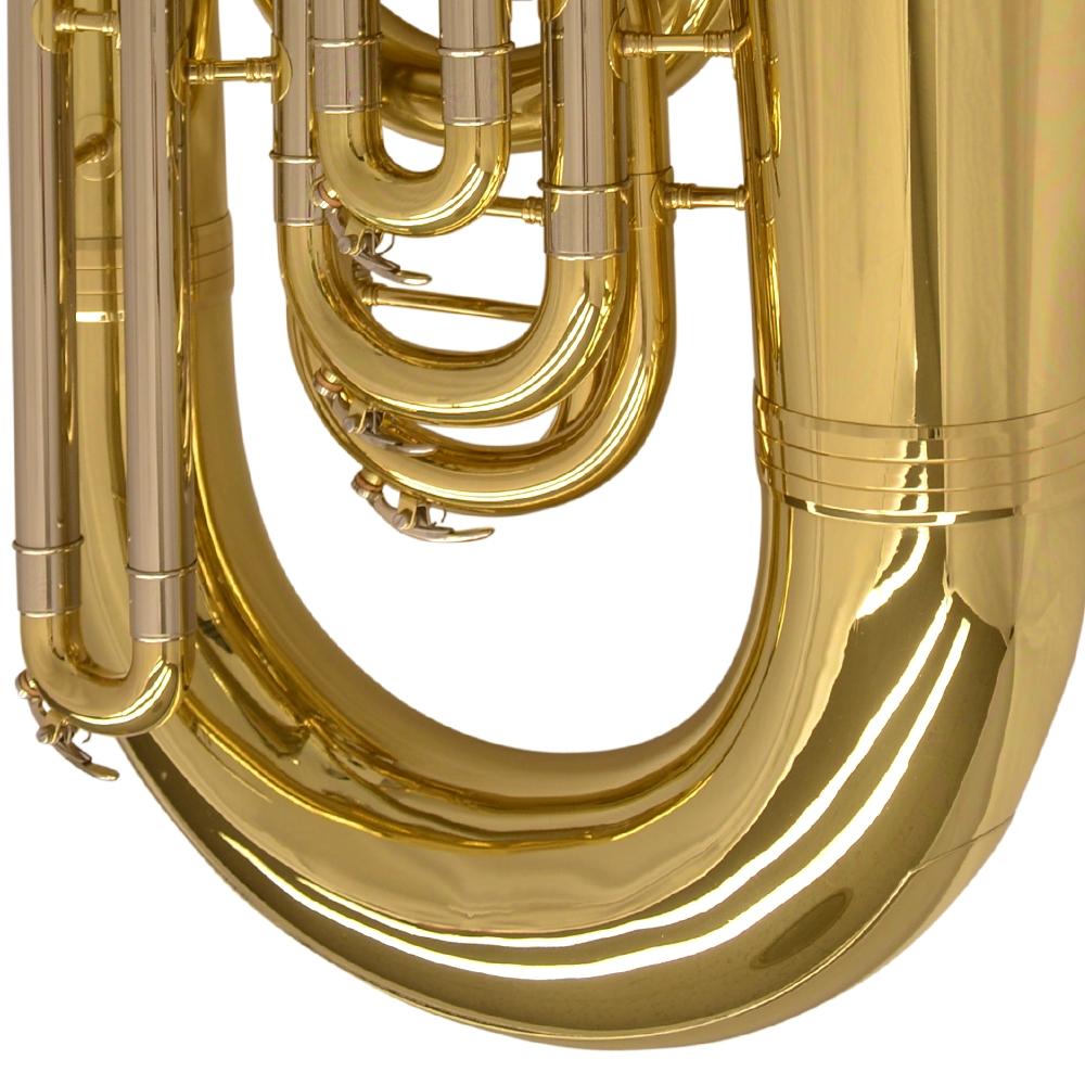 Elite Compensating EEb Tuba Gold