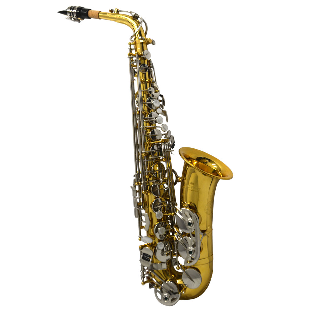American Heritage 400 Alto Saxophone – Silver Plated Keys