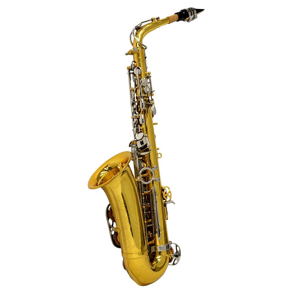 American Heritage 400 Alto Saxophone – Silver Plated Keys