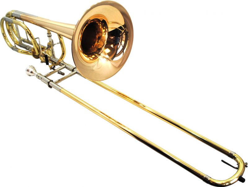 American Heritage Double Thayer Pro Trombone w/ Rose Bell
