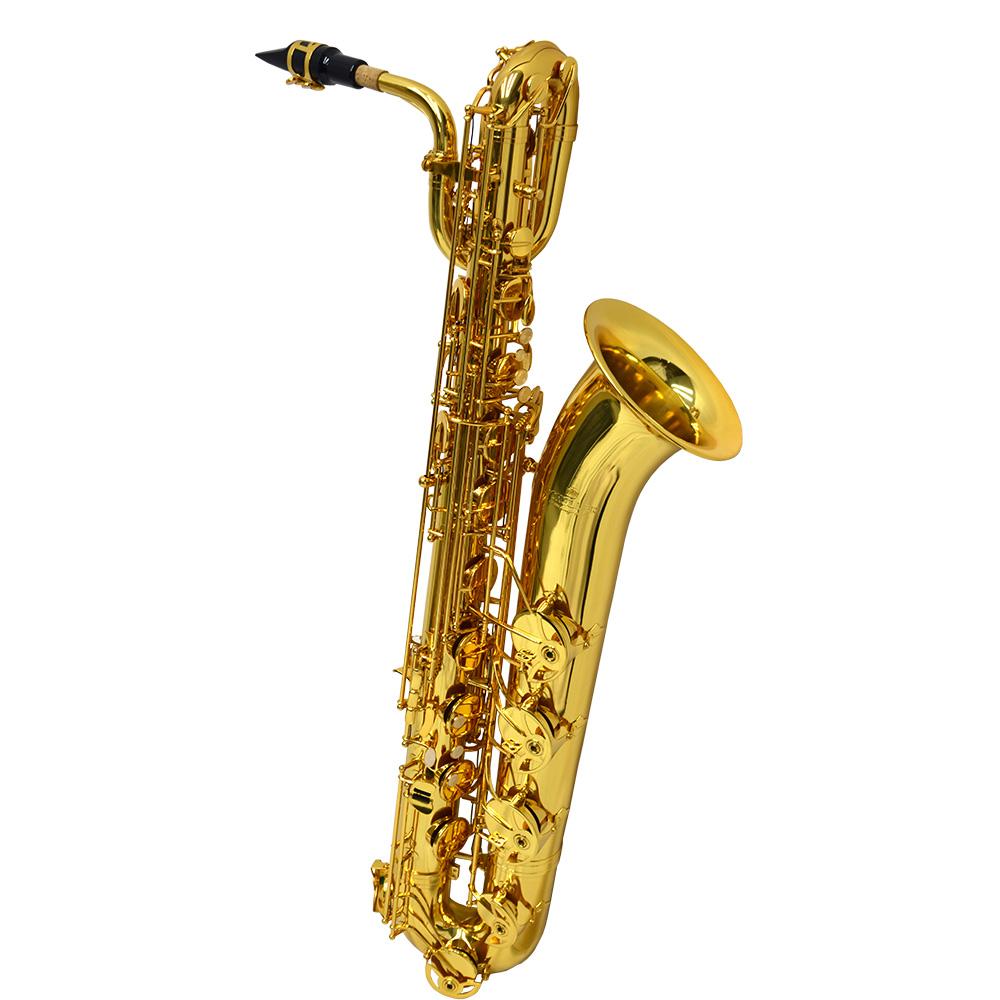 American Heritage 400 Baritone Saxophone – Gold Knox