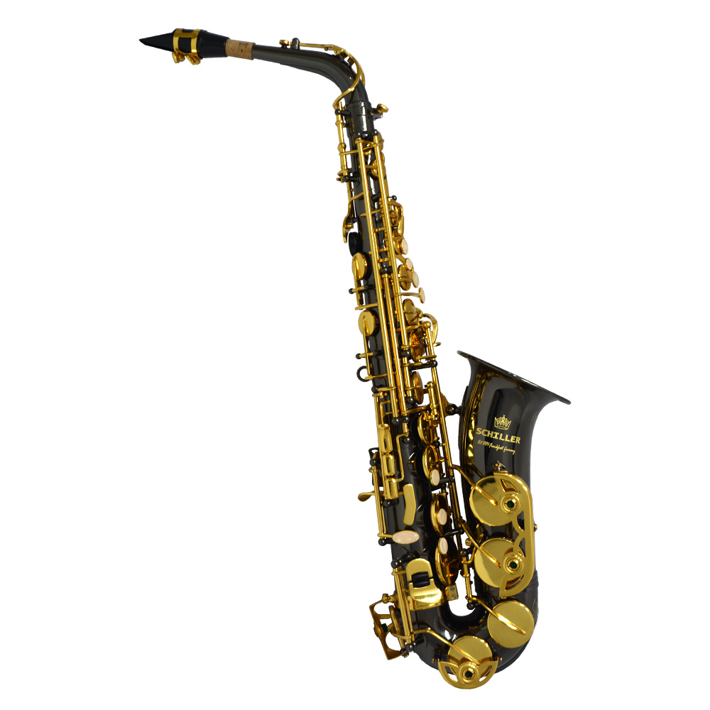 American Heritage 400 Alto Saxophone – Electro-Black and Gold