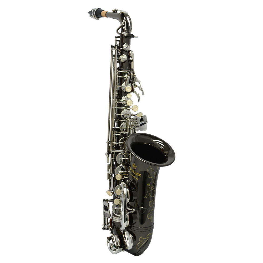 American Heritage 400 Alto Saxophone – Electro-Black and Silver