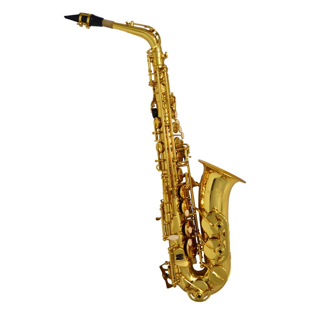 American Heritage 400 Alto Saxophone – Gold Lacquer