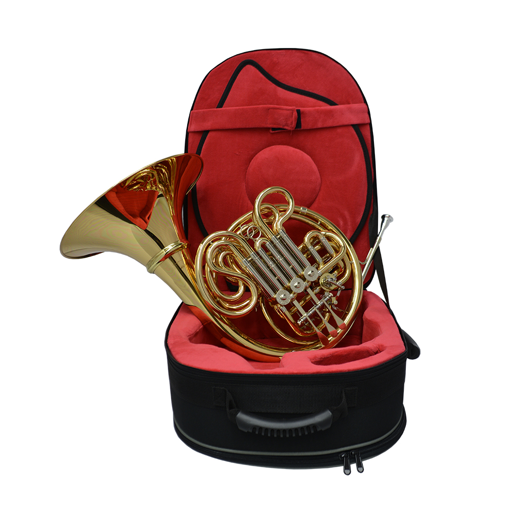 American Elite VI (A) French Horn w/ Detachable Bell – Yellow Brass and Nickel