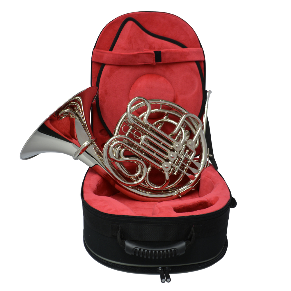 American Elite VI Series II French Horn w/ Detachable Bell – Nickel Plated