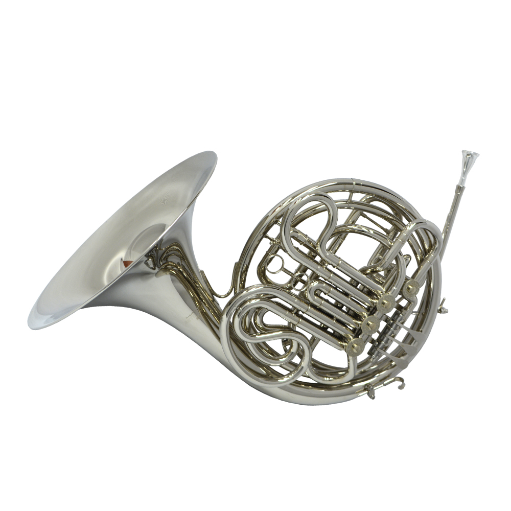 American Elite VI Series II French Horn – Nickel Plated