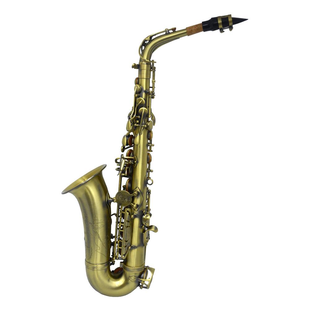 Premier Havana Alto Saxophone – Antique Lacquer Finish w/ Totem