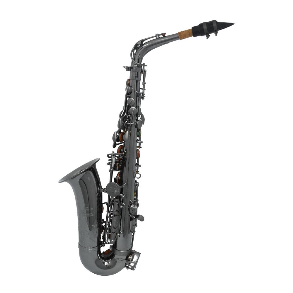 Premier Havana Alto Saxophone – Black Nickel with Totem