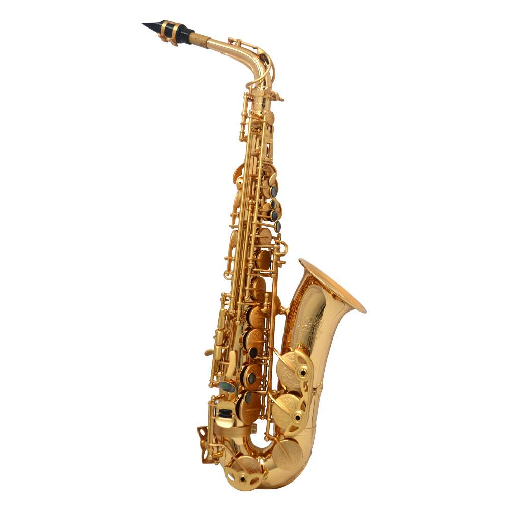 Premier Havana Alto Saxophone – Gold Gloss w/ Totem