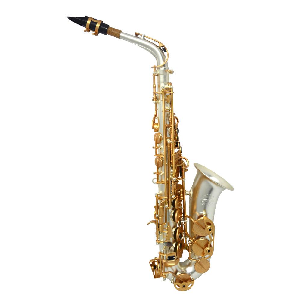Premier Havana Alto Saxophone – Sandblasted Silver Plated w/ Totem