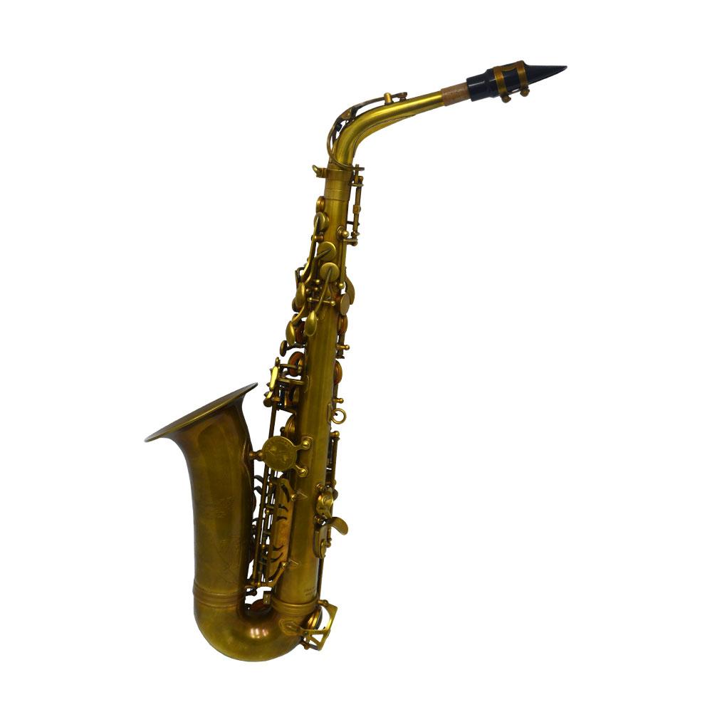 Premier Havana Alto Saxophone – Light Unlacquered Duralast Finish