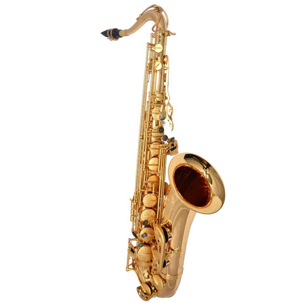 Premier Havana Tenor Saxophone – Gold Gloss w/ Totem