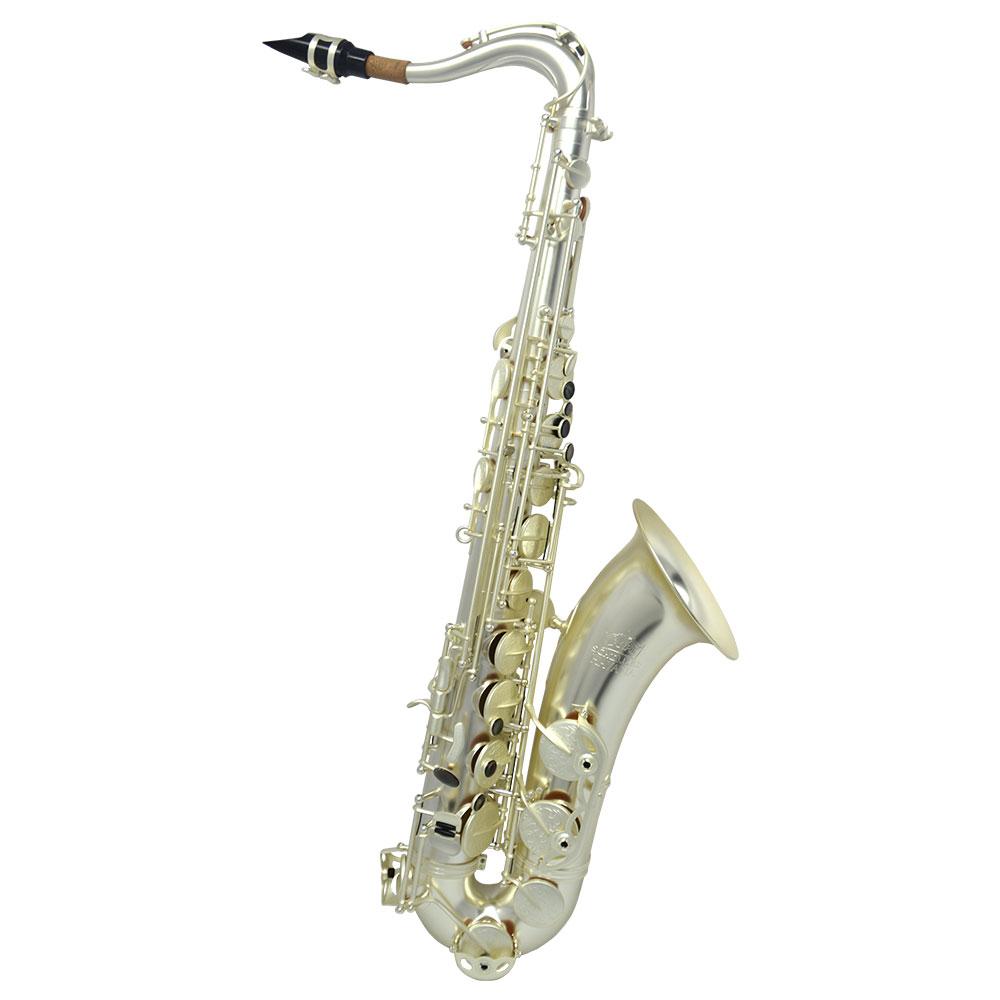 Premier Havana Tenor Saxophone – Sandblasted Silver Plated w/ Totem