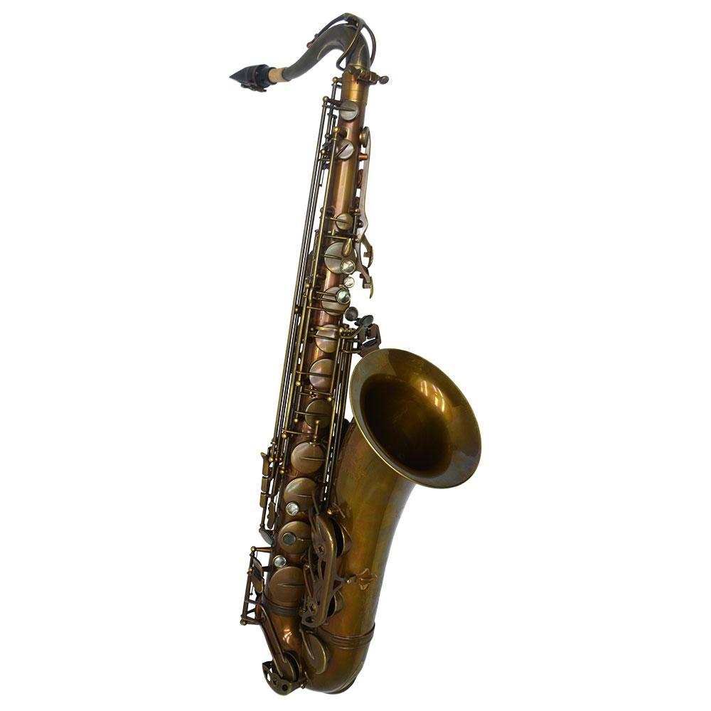 Premier Havana Tenor Saxophone – Dark Unlacquered Duralast Finish