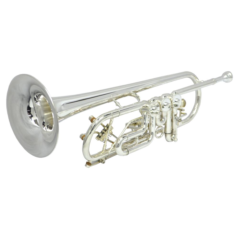 Elite Frankfurt Rotary Trumpet – Silver