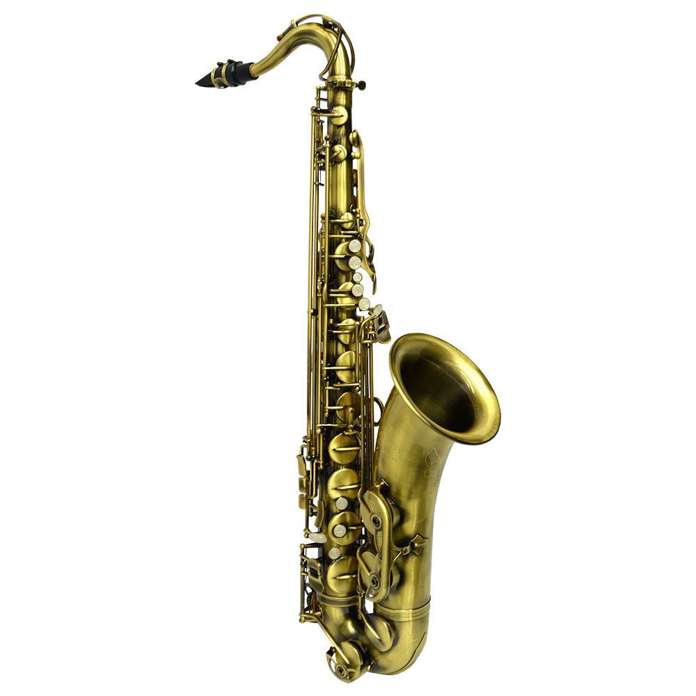 American Heritage 400 Tenor Saxophone – Satin Gold Lacquer