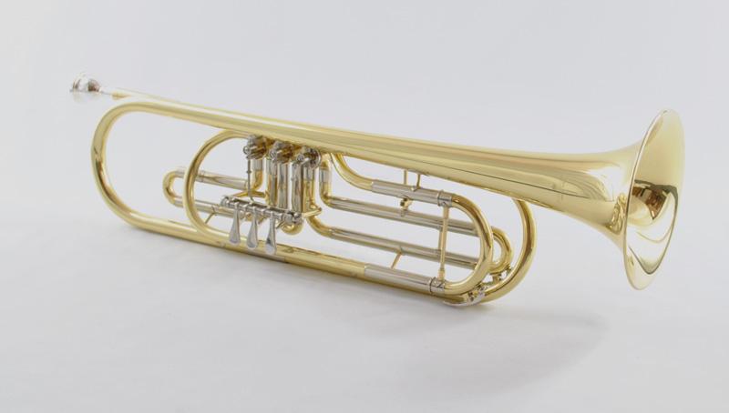 Schiller Bass Trumpet – Elite Rotary Valve