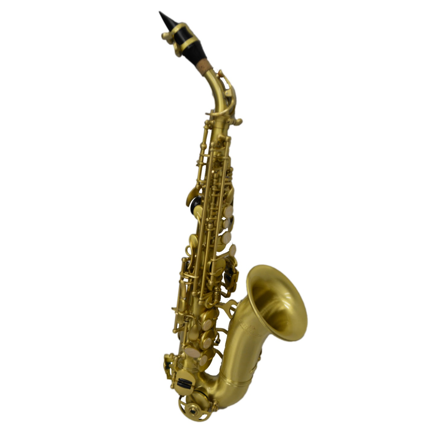 American Heritage 400 Curved Soprano Saxophone – Vintage Brass