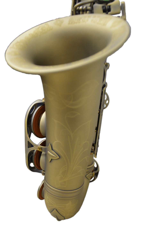 Elite Luxus Alto Saxophone – Antique Brass Finish