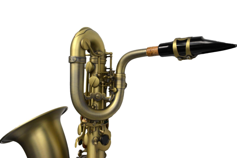 Elite Luxus V Baritone Saxophone – Raw Brass
