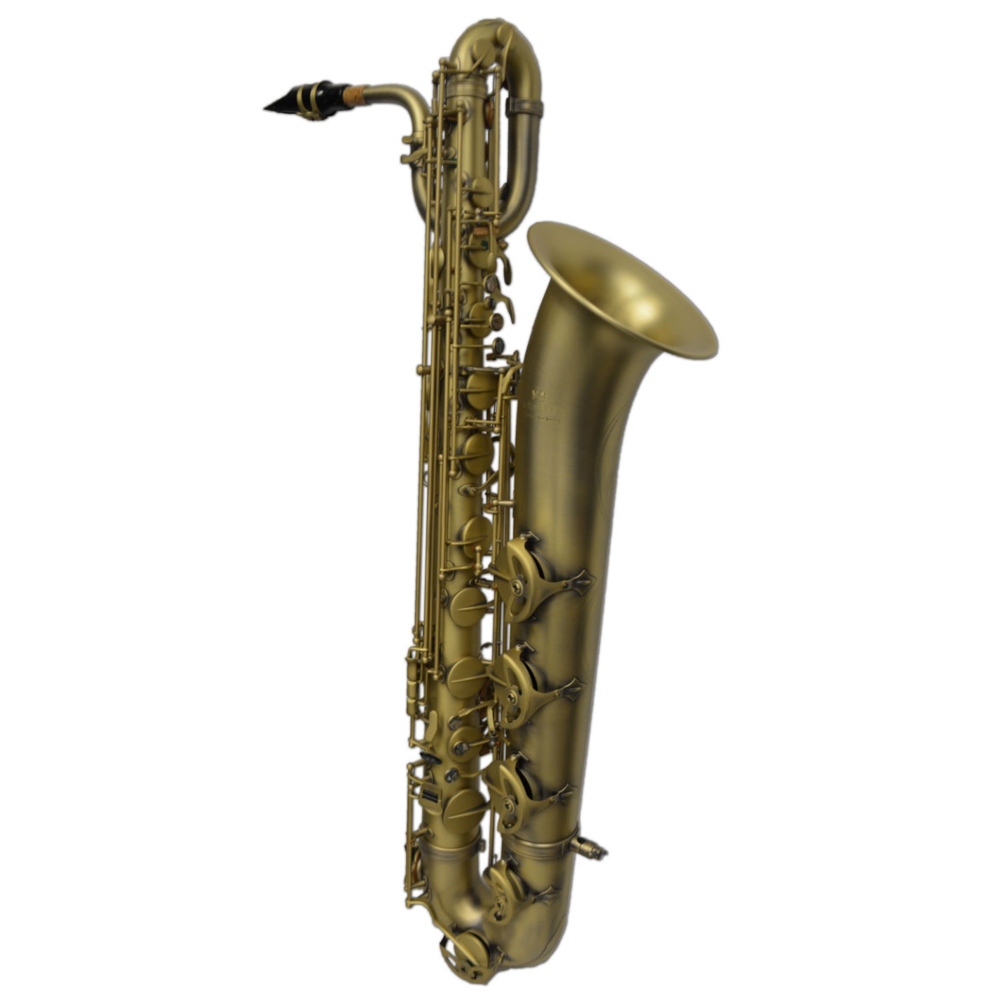 Elite Luxus V Baritone Saxophone – Raw Brass