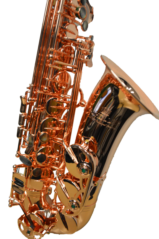 Elite V Pro Artist Alto Saxophone – Bright Copper