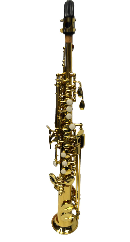 Elite V Sopranino Saxophone – Vintage Brass