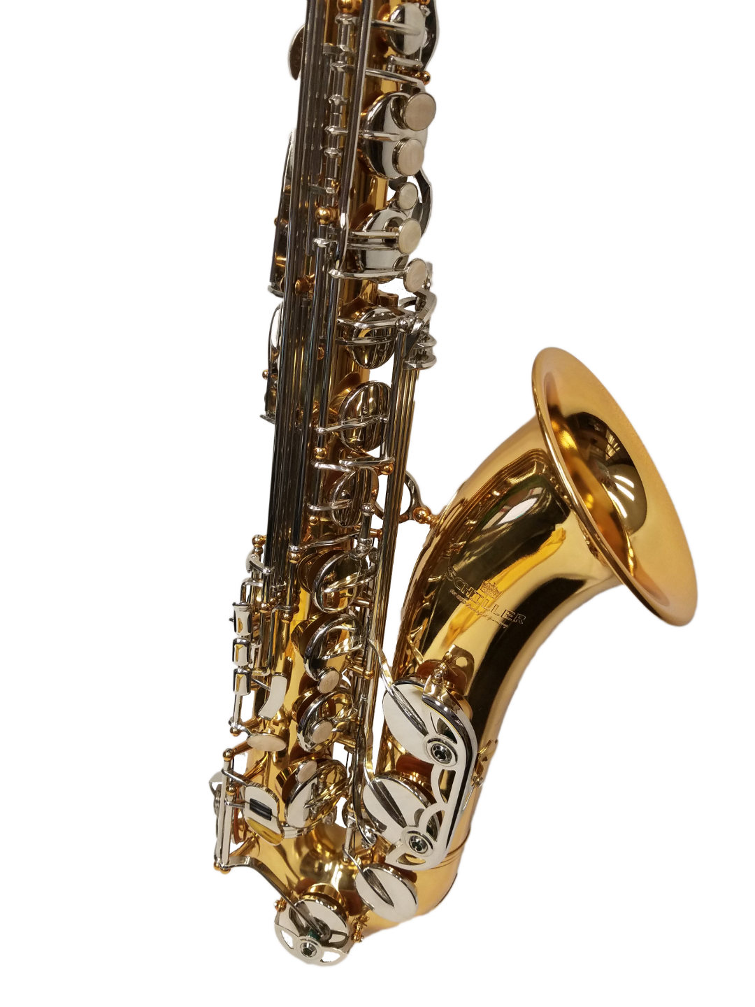 American Heritage 400 Tenor Saxophone – Gold Lacquer w/Nickel Keys