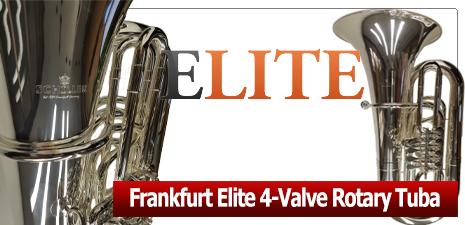 Frankfurt Elite 4 Vavle Rotary Tuba