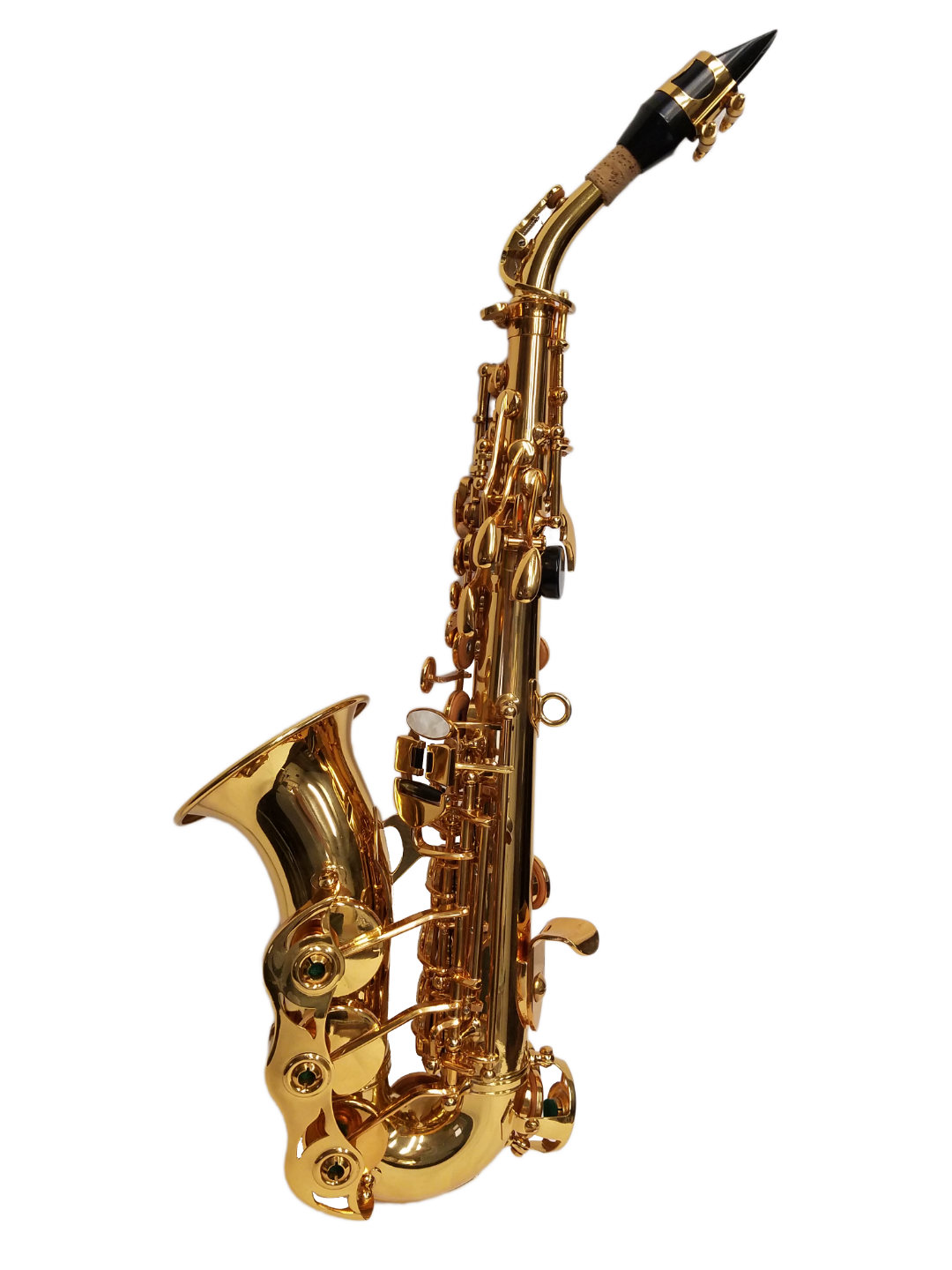American Heritage 400 Curved Soprano Saxophone – Gold