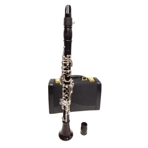 Clarinet Key-C Ebony Wood