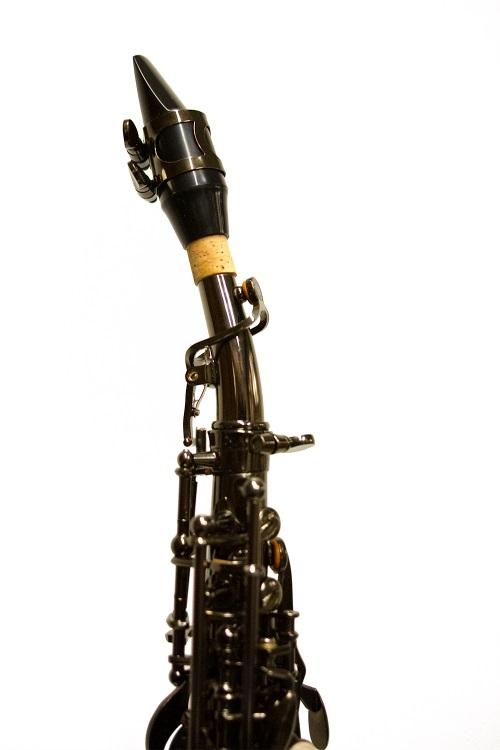 American Heritage 400 Curved Soprano Saxophone Black Nickel