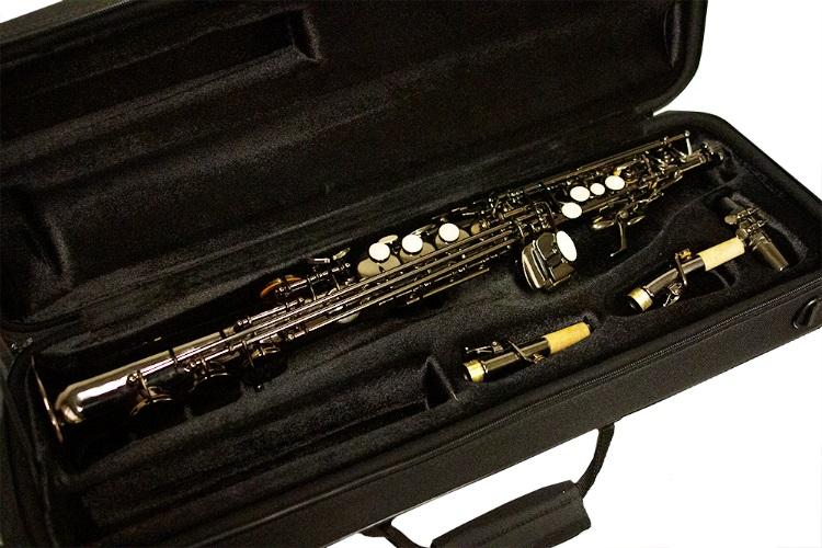 American Heritage 400 Soprano Saxophone Black Nickel