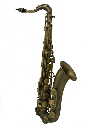 Elite Luxus Tenor Saxophone – Antique Brass Finish