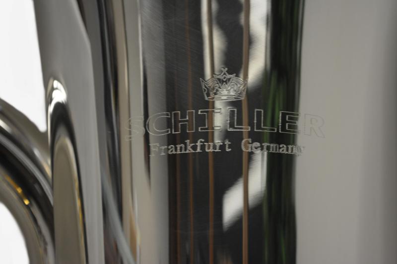 American Heritabe 4 Valve Elite Piston Eb Tuba – Silver
